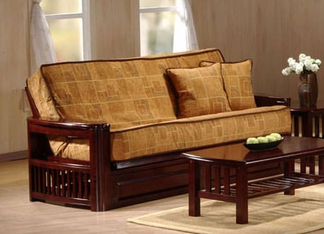 Tudor Teak Futon Frame By J M Furniture