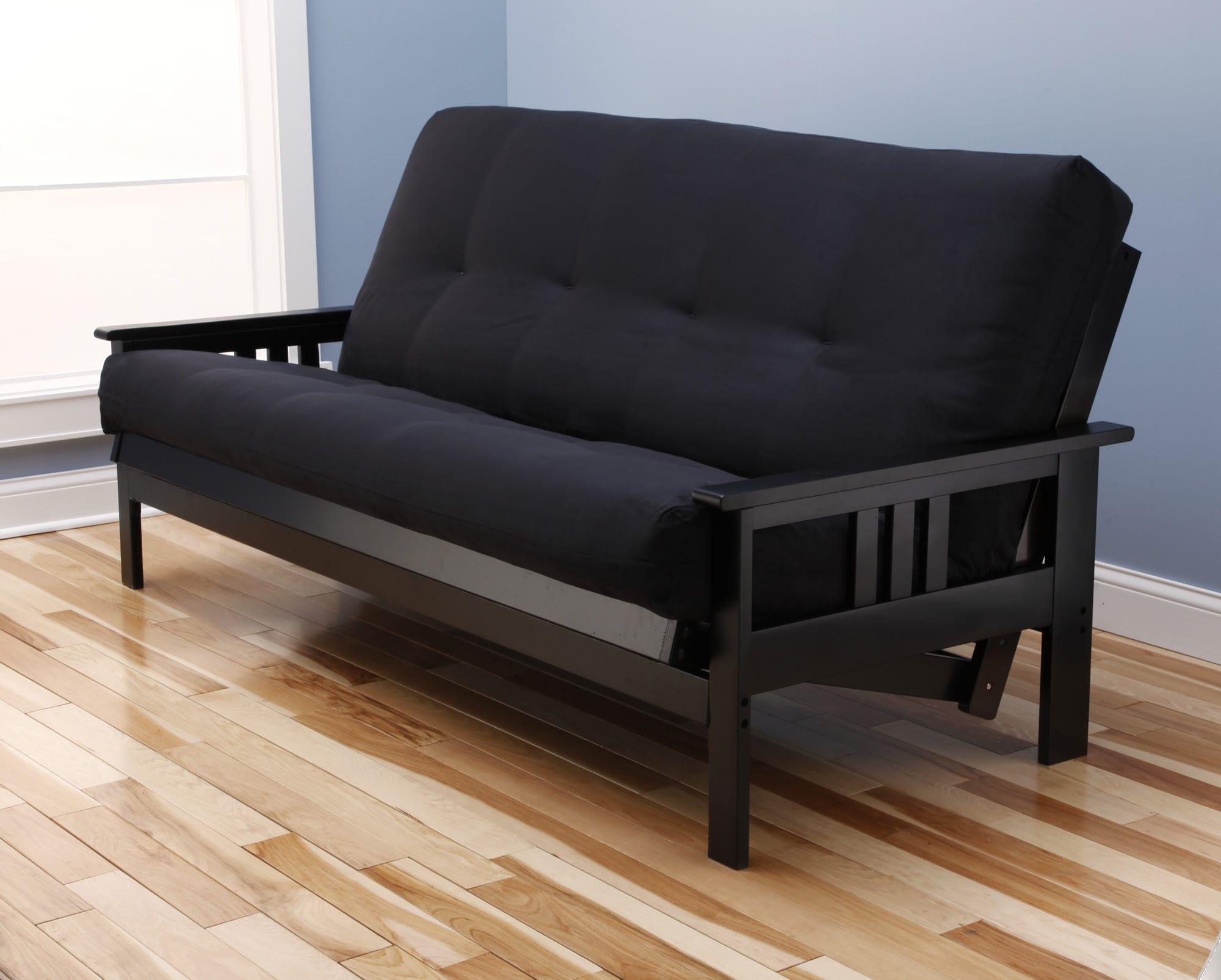 Monterey Full Futon Set Black By Kodiak
