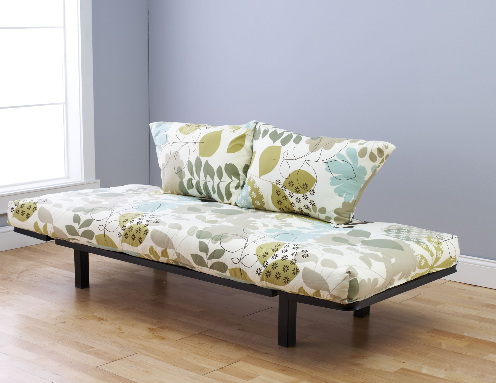 Ely Futon Daybed Lounger With Mattress English Garden By Kodiak