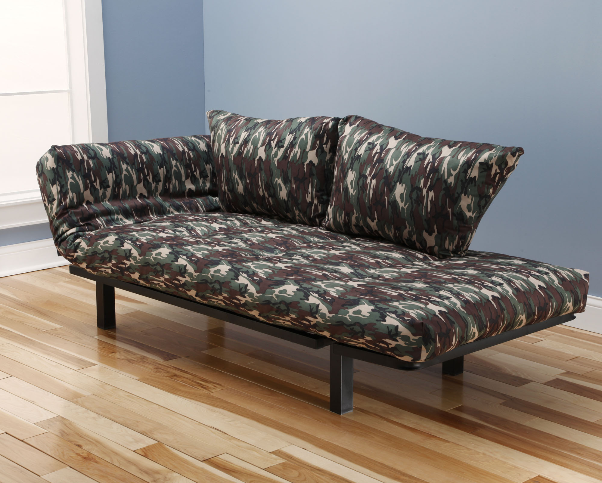 Ely Futon Daybed Lounger With Mattress Galaxy Camo By Kodiak