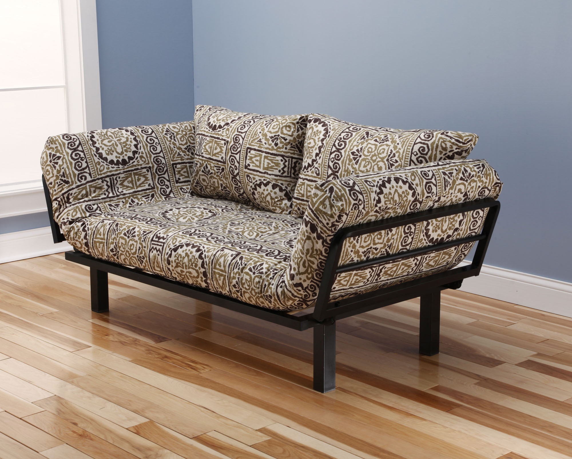 Spacely Futon Daybed Lounger with Mattress Jordan by Kodiak