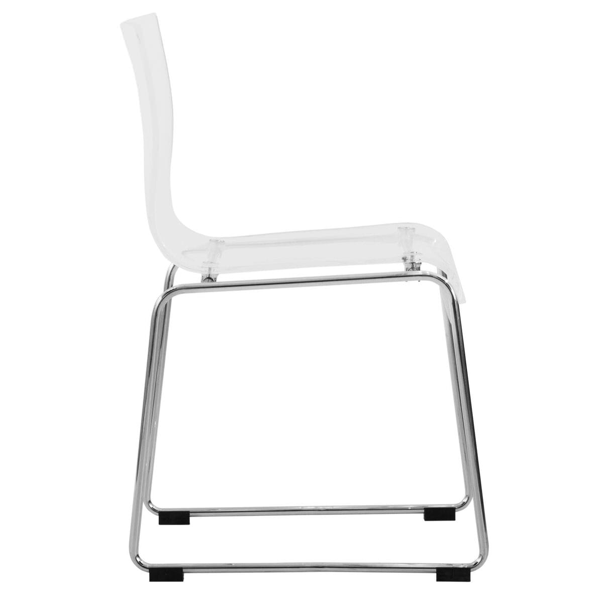 Brilliant Lima Modern Clear Acrylic Chair By Leisuremod Spiritservingveterans Wood Chair Design Ideas Spiritservingveteransorg