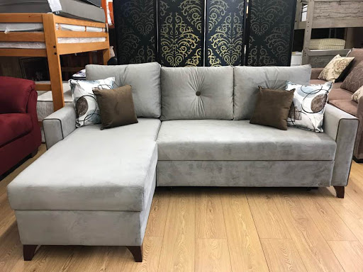 Lyon Lilyum Gray Sectional Sofa Bed By Istikbal Furniture