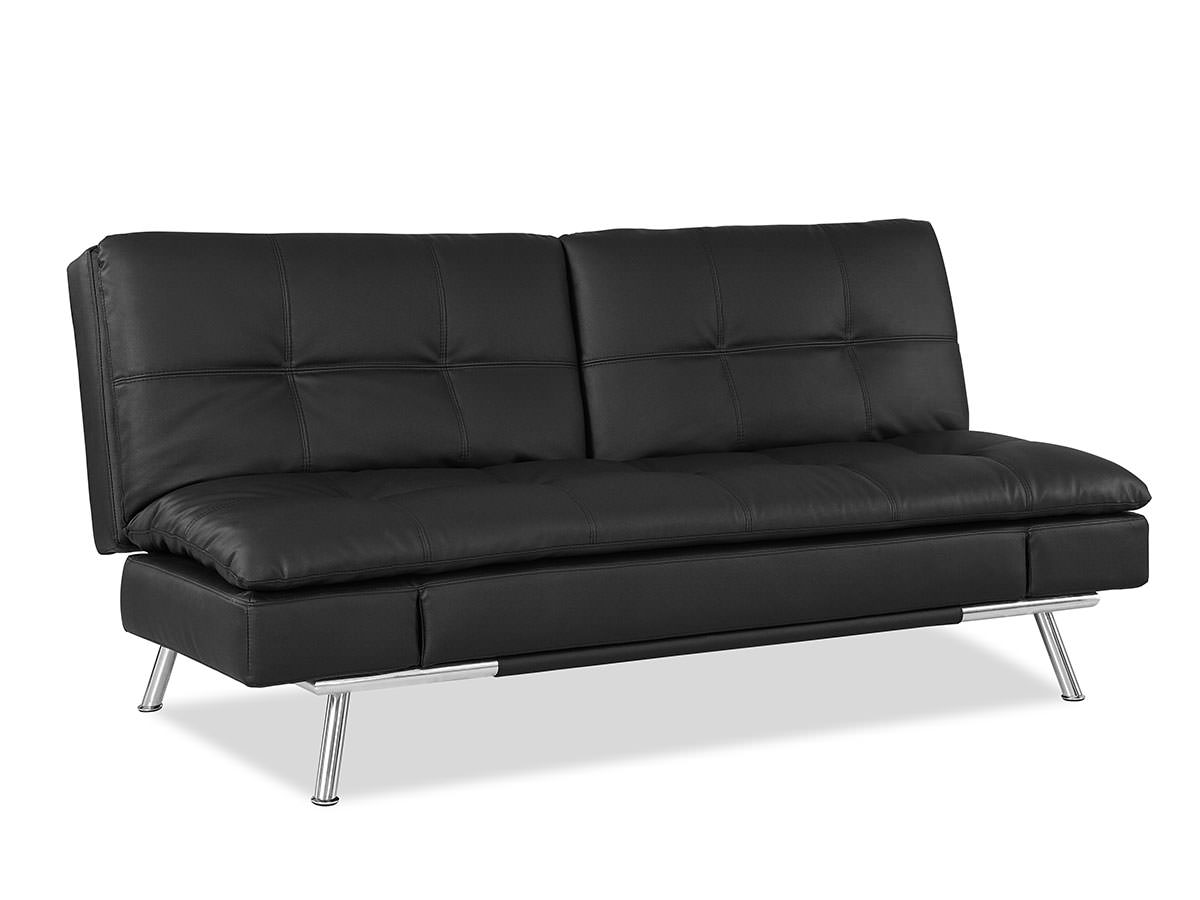 Surprising Matrix Convertible Sofa Bed Black By Lifestyle Solutions Squirreltailoven Fun Painted Chair Ideas Images Squirreltailovenorg