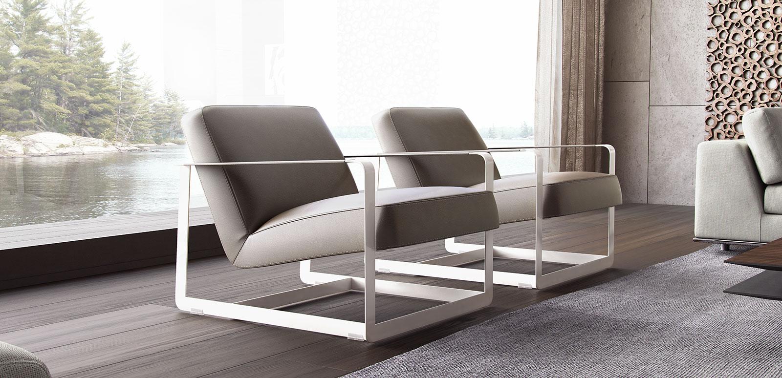 Terrific Crosby Lounge Chair Castle Gray By Modloft Machost Co Dining Chair Design Ideas Machostcouk