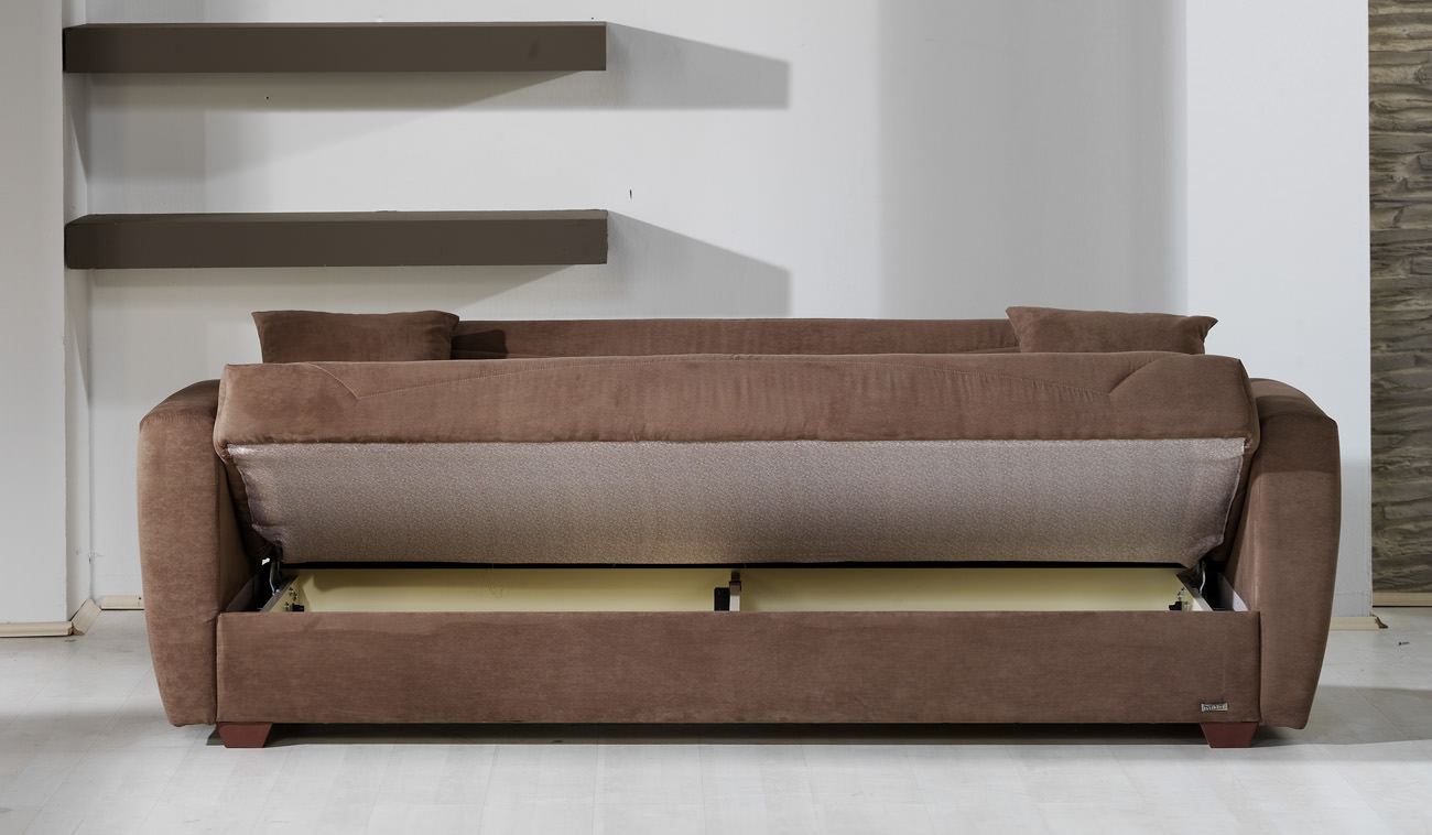 Floor sample miami obsession truffle sofa bed for Sofa bed name