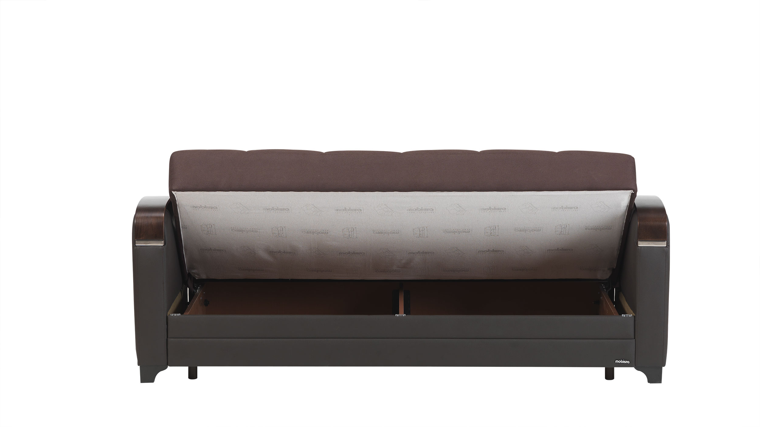 mobetto vintage chocolate fabric sofa bed by mobista. Black Bedroom Furniture Sets. Home Design Ideas