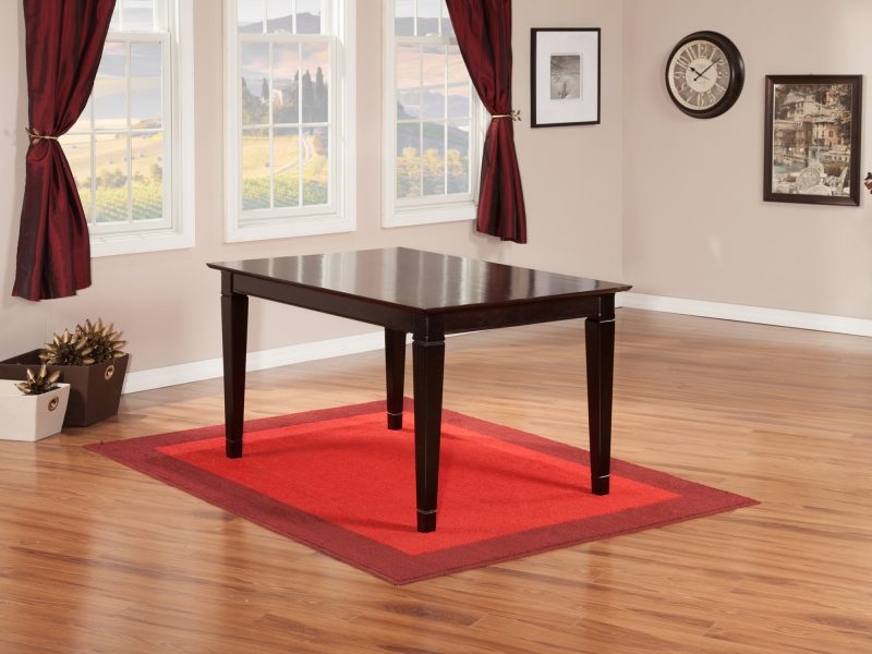 Montego Bay 36 X 60 Dining Table Espresso By Atlantic Furniture