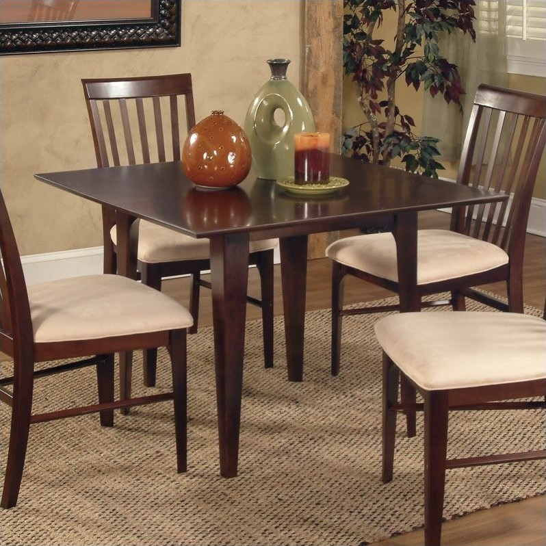 Montreal 36 X 60 Dining Table Caramel Latte By Atlantic Furniture