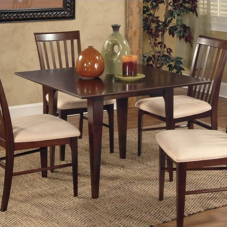 Montreal 39 X Dining Table Caramel Latte By Atlantic Furniture