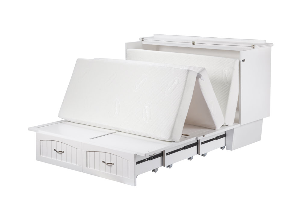 Deerfield Queen Chest Bed Murphy Bed By Atlantic
