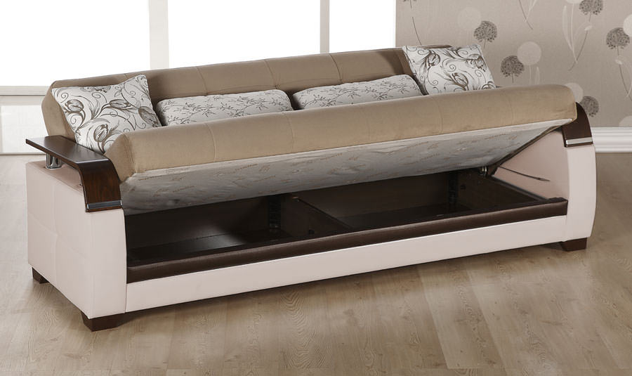 Outstanding Natural Naomi Light Brown Convertible Sofa Bed By Istikbal Caraccident5 Cool Chair Designs And Ideas Caraccident5Info