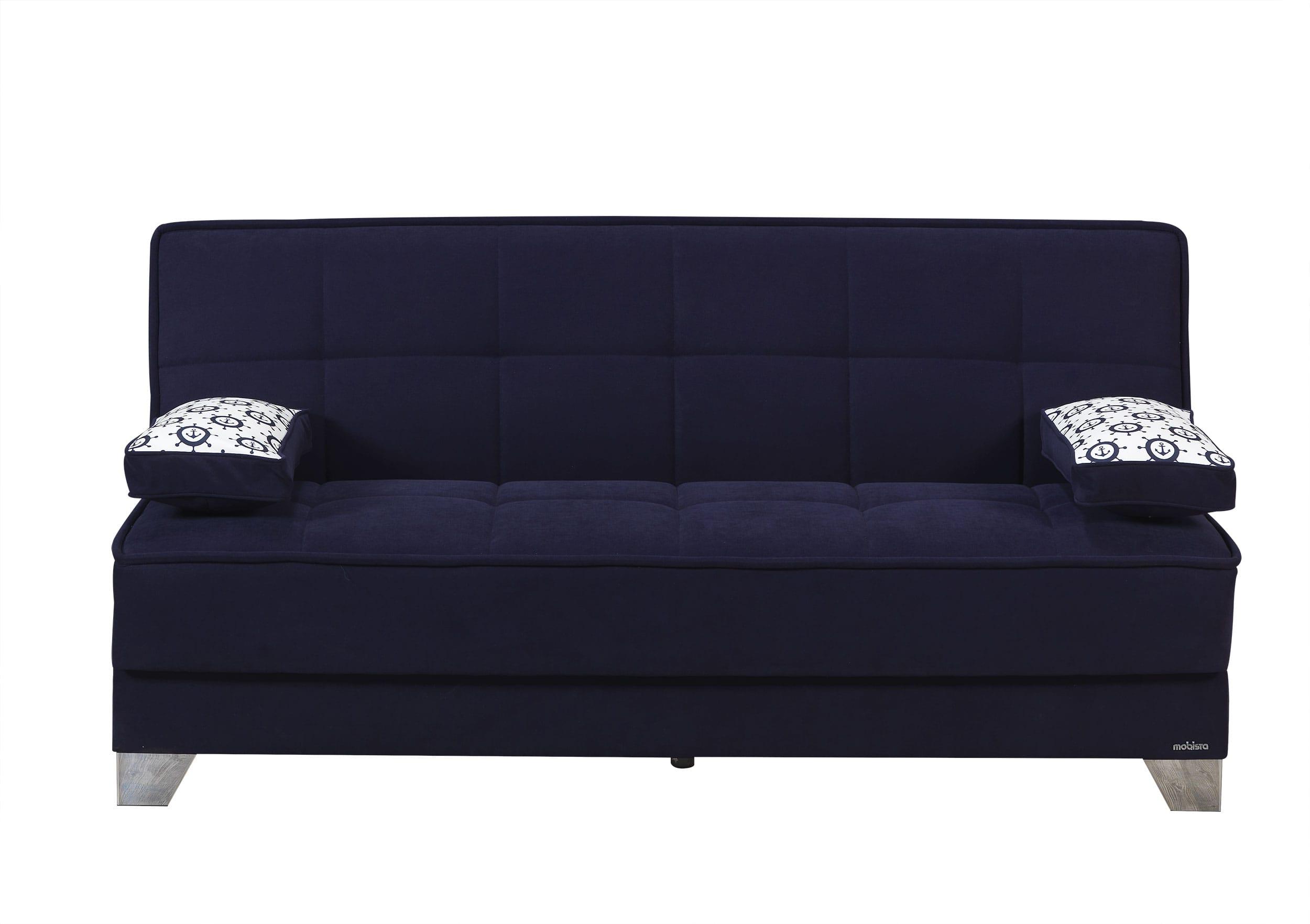 Nexo Carisma Navy Blue Sofa Bed By Mobista (Mobista)