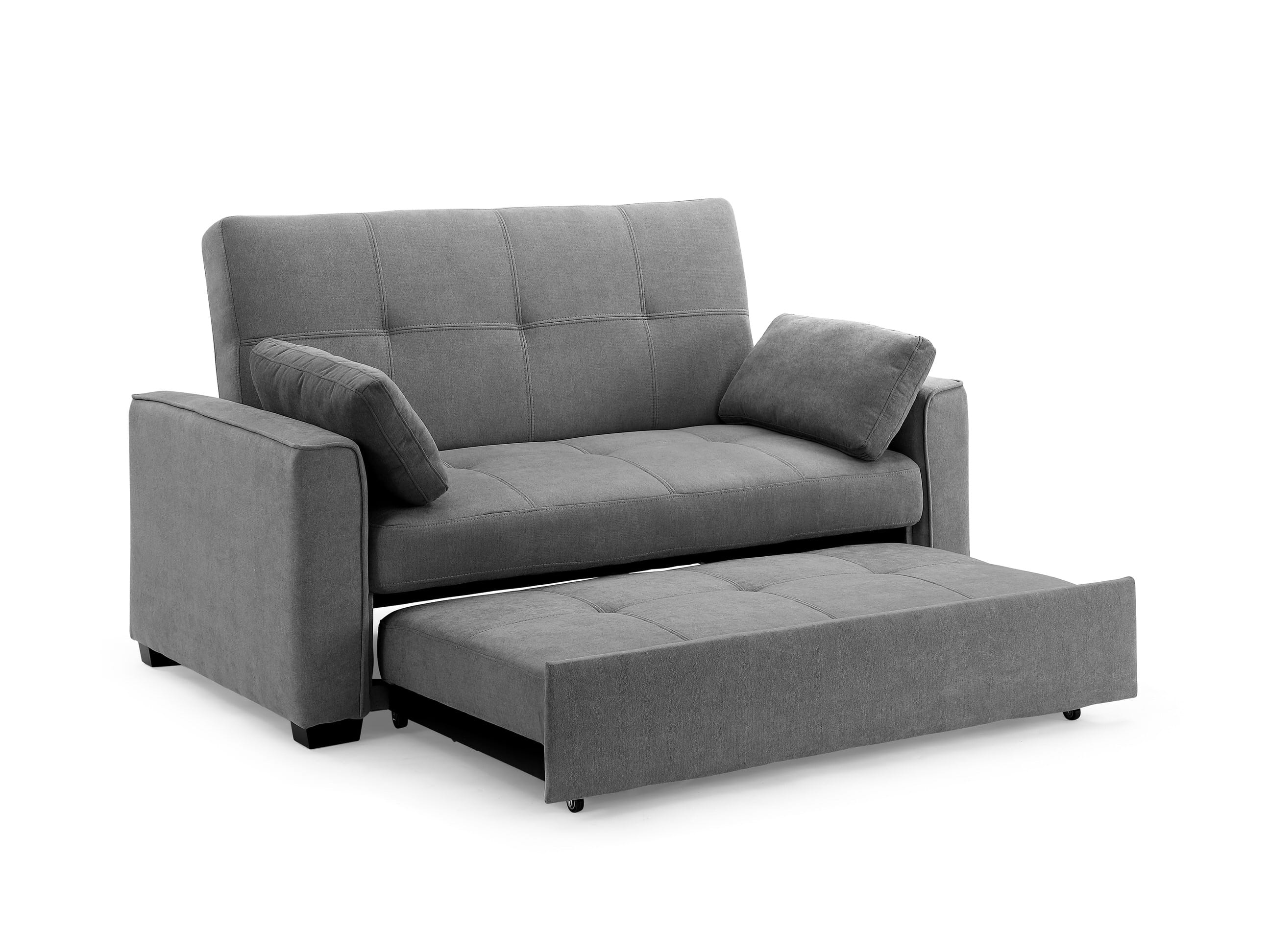- Nantucket Loveseat Full Size Sleeper Java By Night & Day Furniture