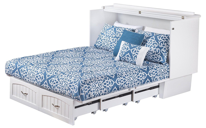 Nantucket Murphy Bed Chest Gray