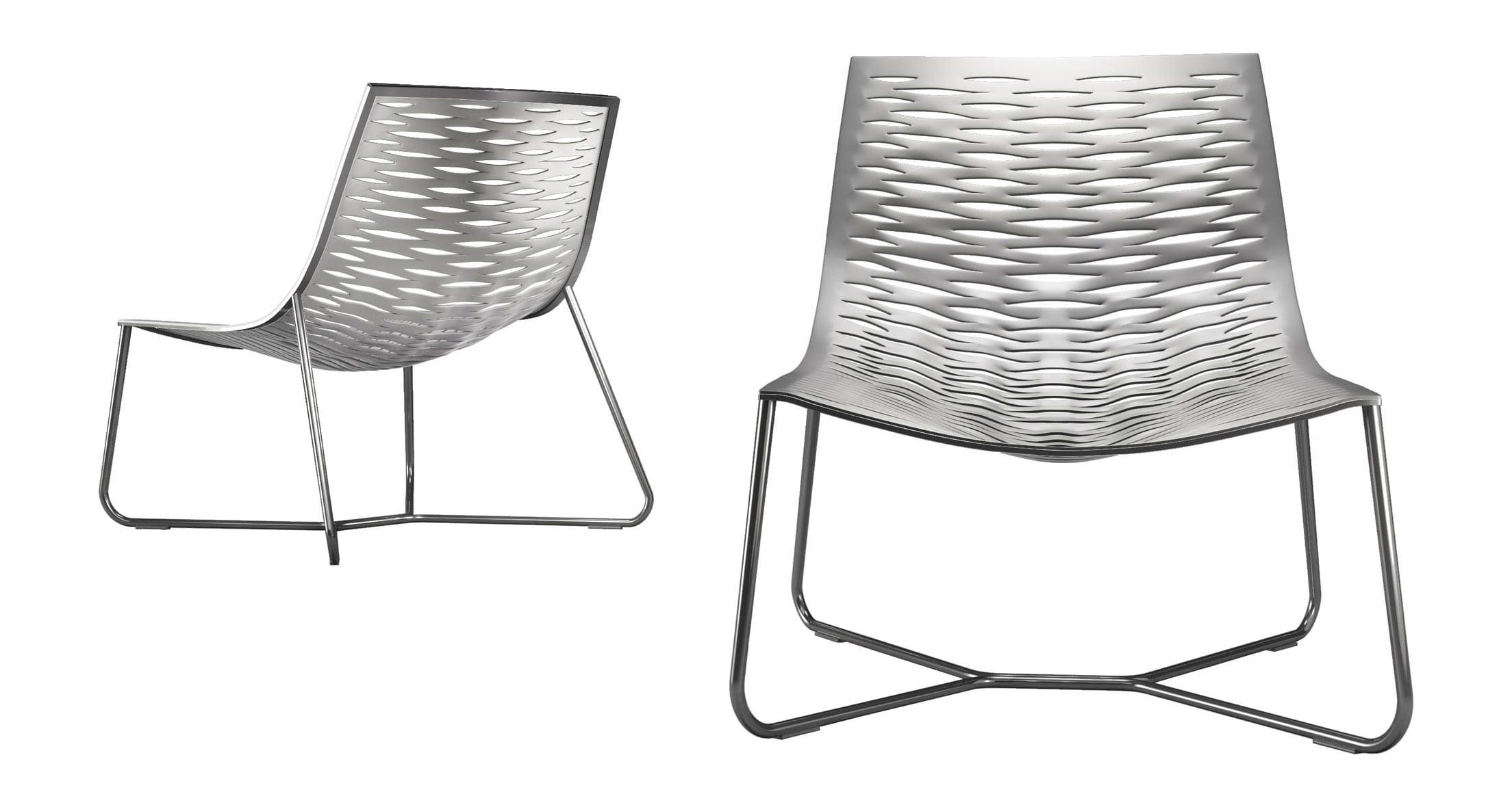 Fantastic York Lounge Chair Bright White By Modloft Machost Co Dining Chair Design Ideas Machostcouk