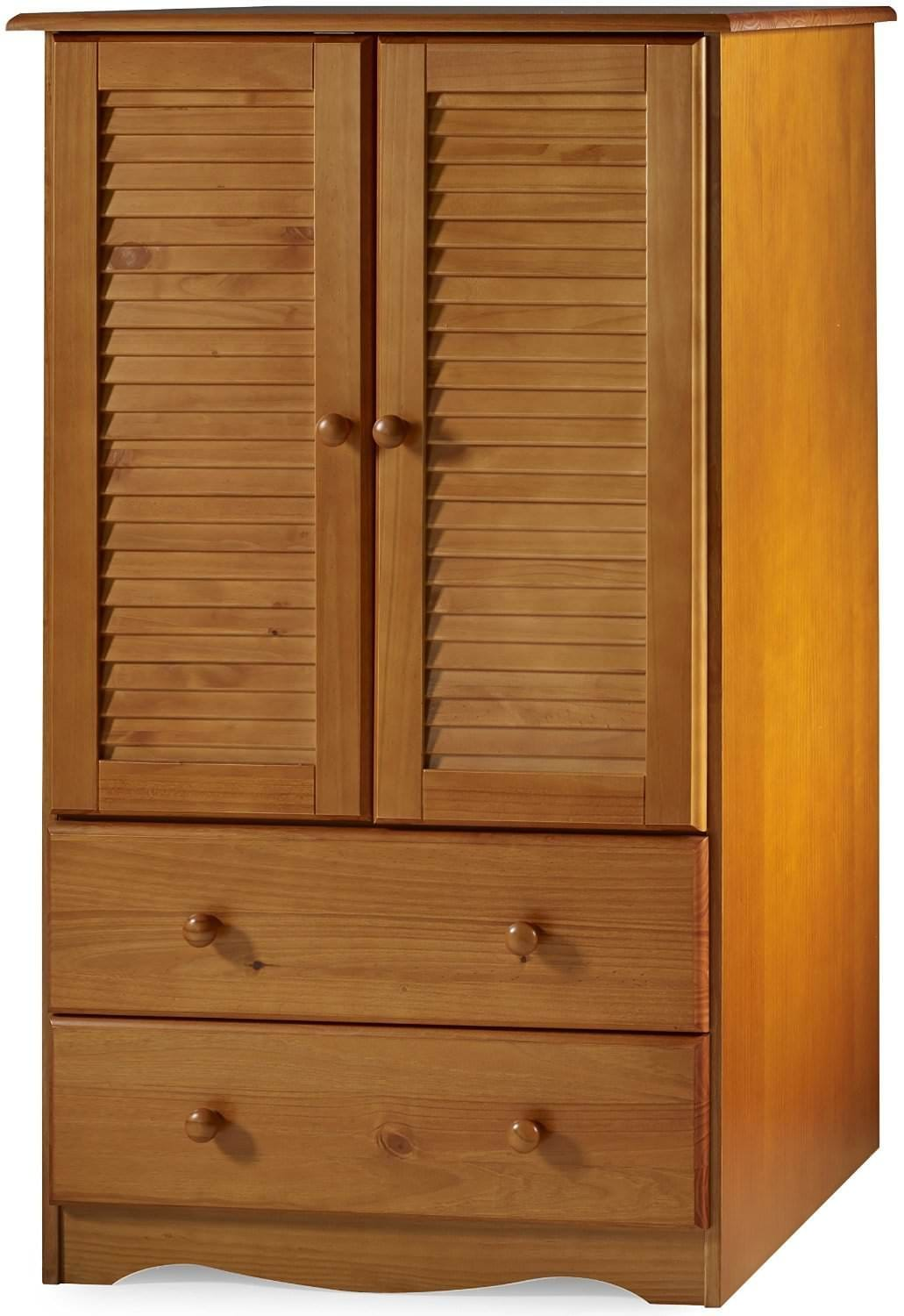 petit armoire honey pine by palace imports. Black Bedroom Furniture Sets. Home Design Ideas