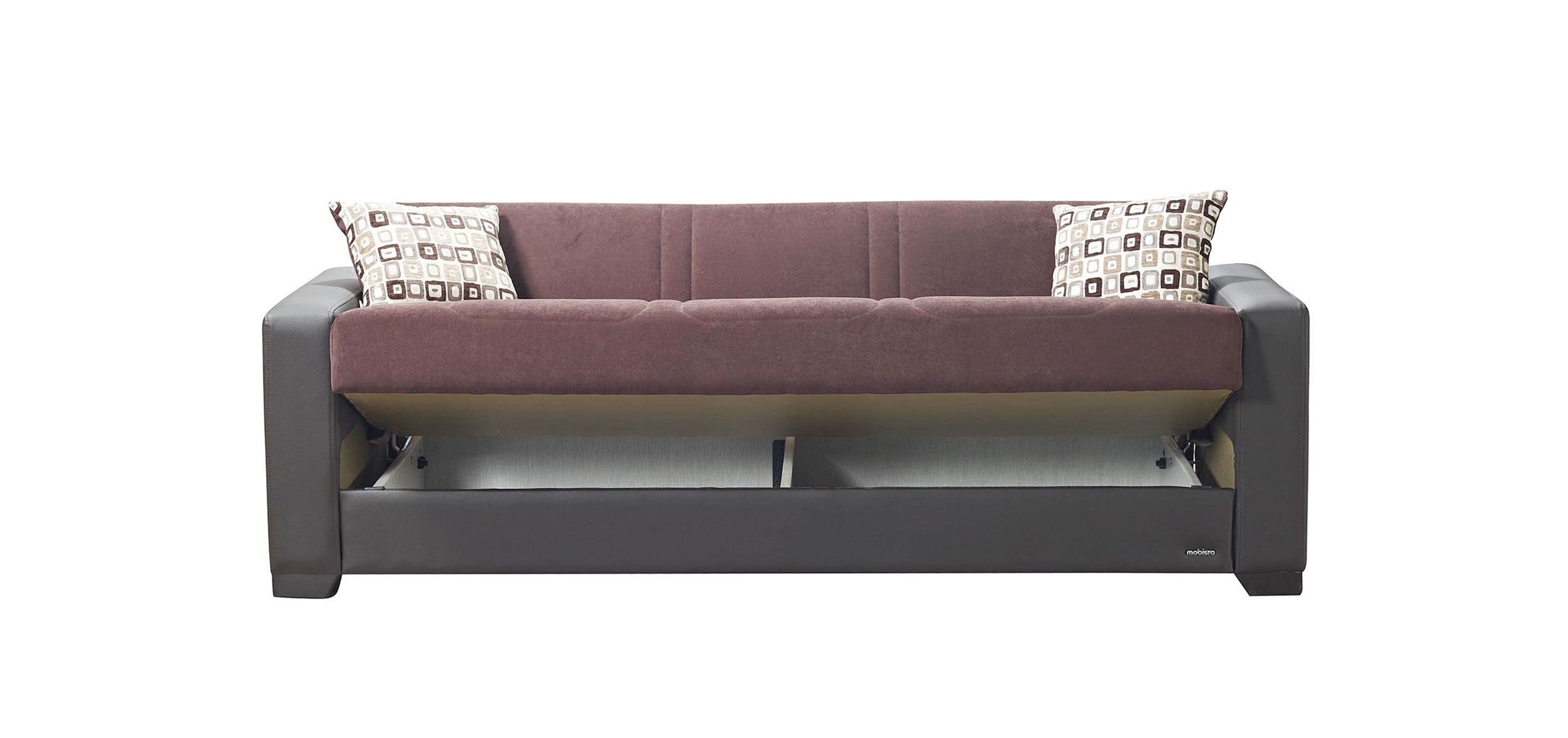 Relaxon Carisma Chocolate Sofa Bed by Mobista