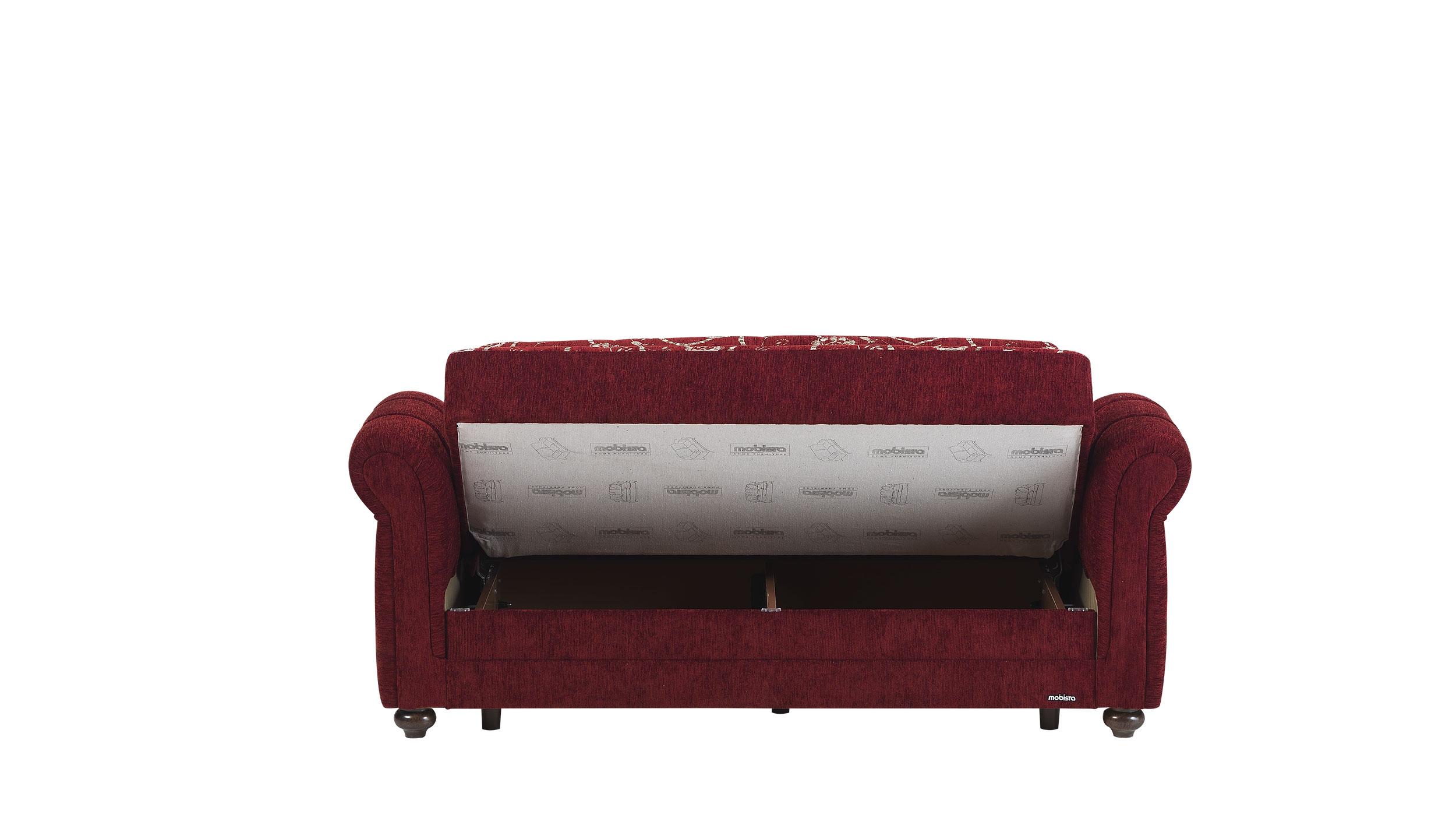 Regina Home Burgundy Loveseat Bed By Mobista