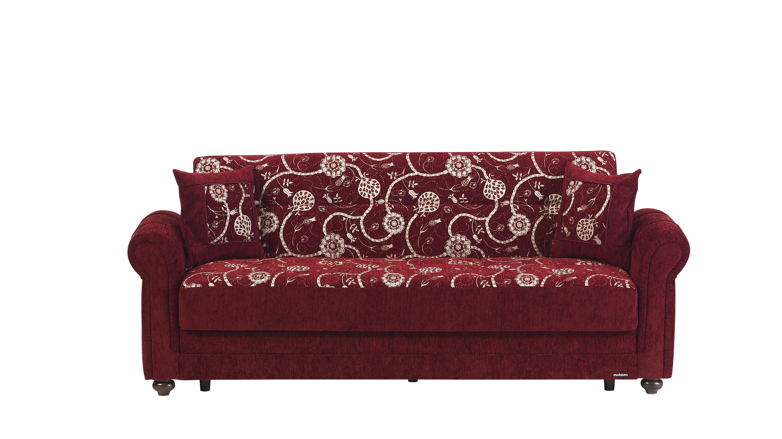 Regina Home Burgundy Sofa Bed by Mobista
