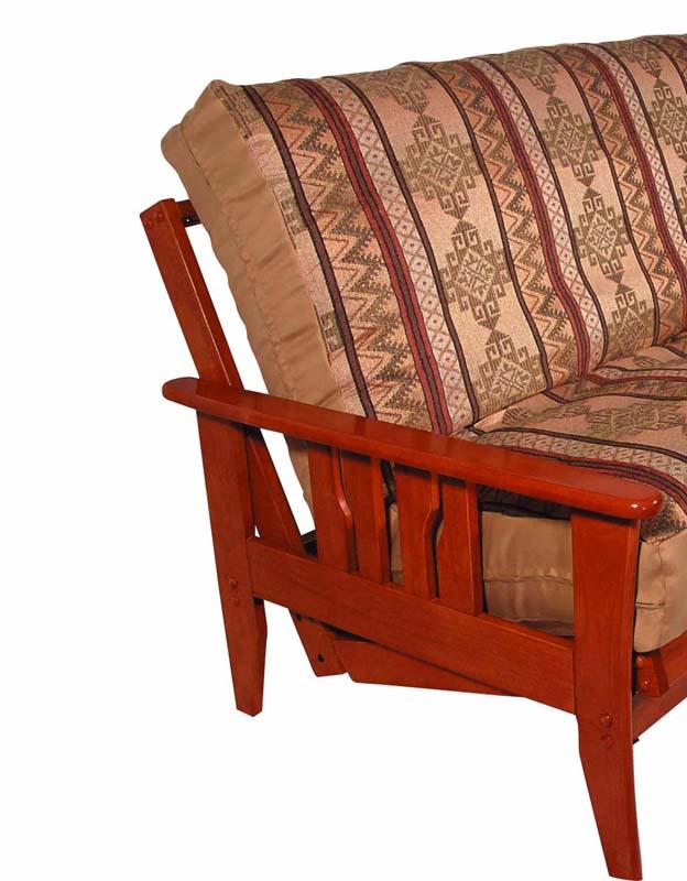 Rina Chair Size Natural Futon Set With Storage Drawer