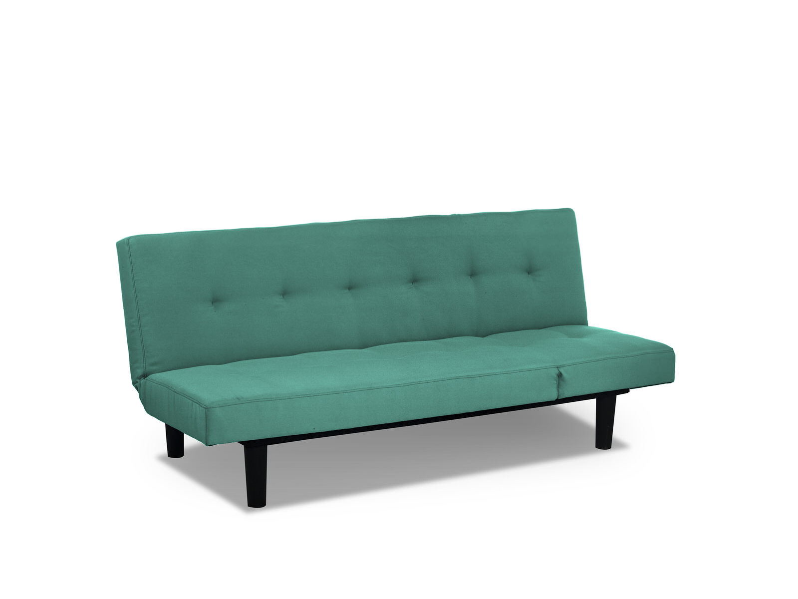 Mini Lounger Convertible Sofa Bed Teal By Serta Lifestyle Solutions