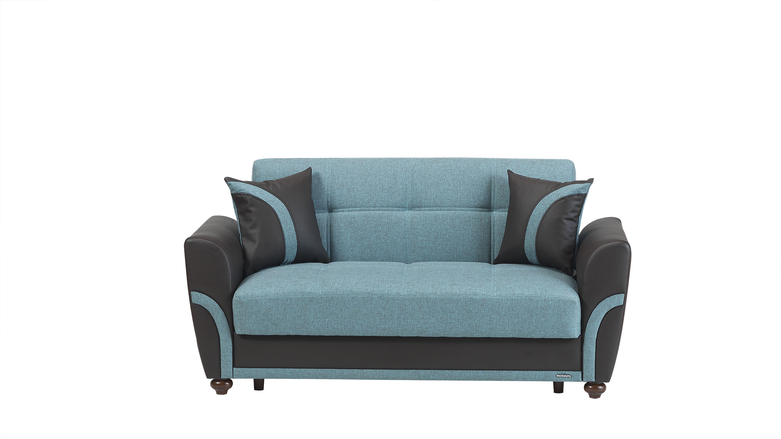 Star City Turquoise Loveseat Bed By Mobista