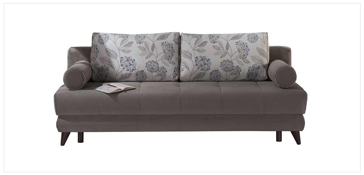 Stella Image Gray Sofa 2 Chairs Set By Sunset