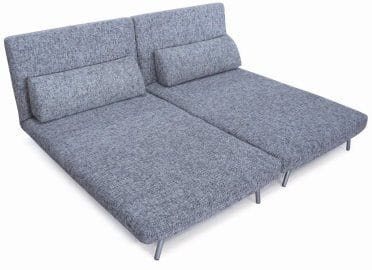 Sofa Bed 05 White Gray by New Spec