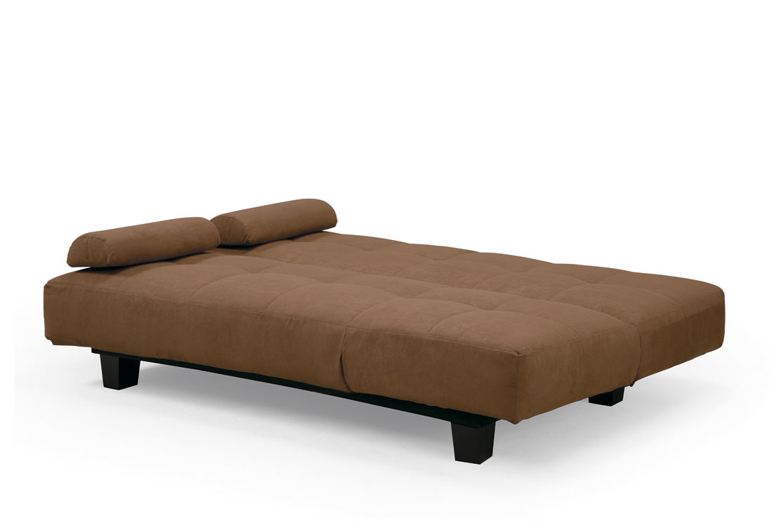 Sofia Java Casual Convertible Sofa Bed By Lifestyle Solutions