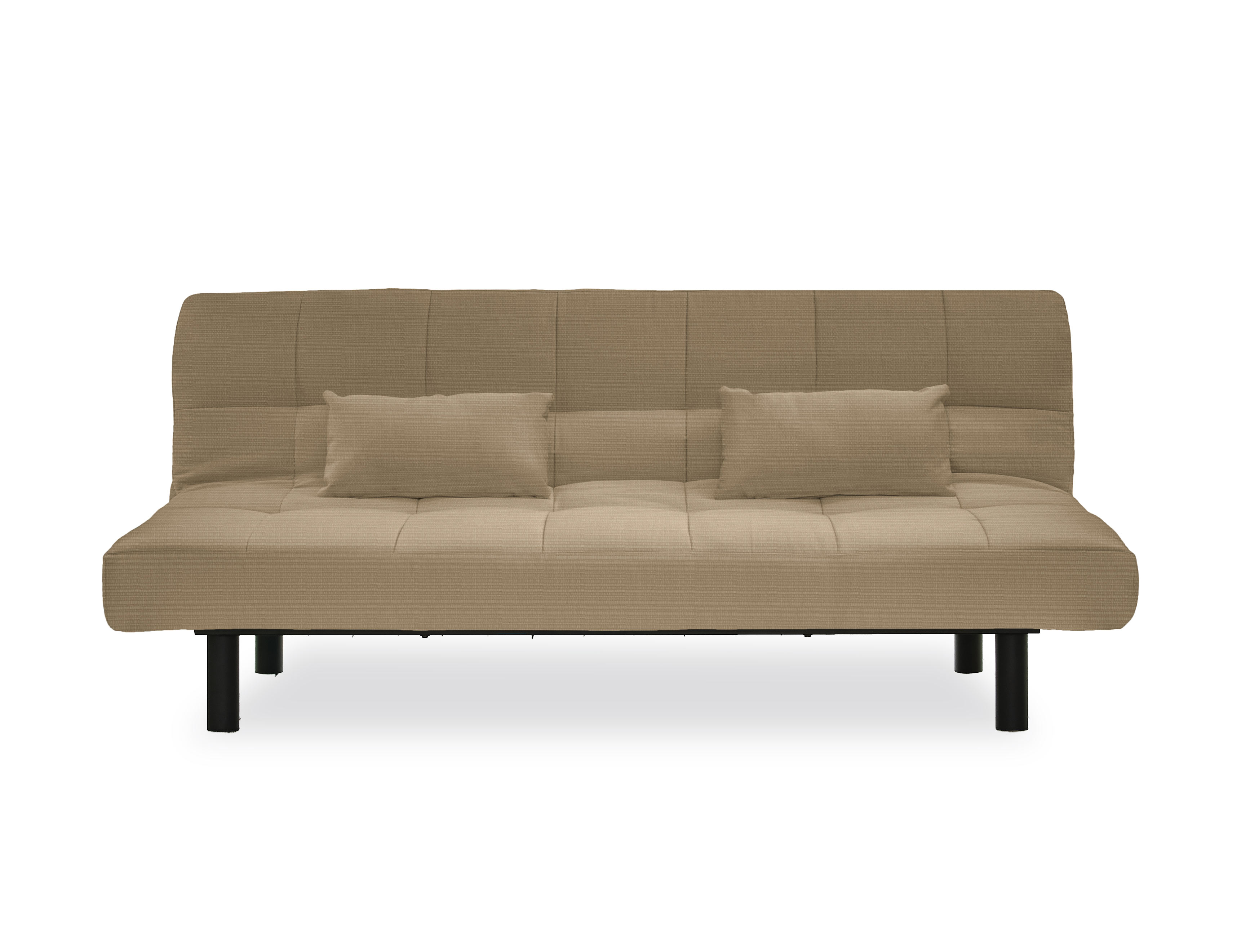 St Lucia Convertible Sofa Sand By Serta Lifestyle Solutions