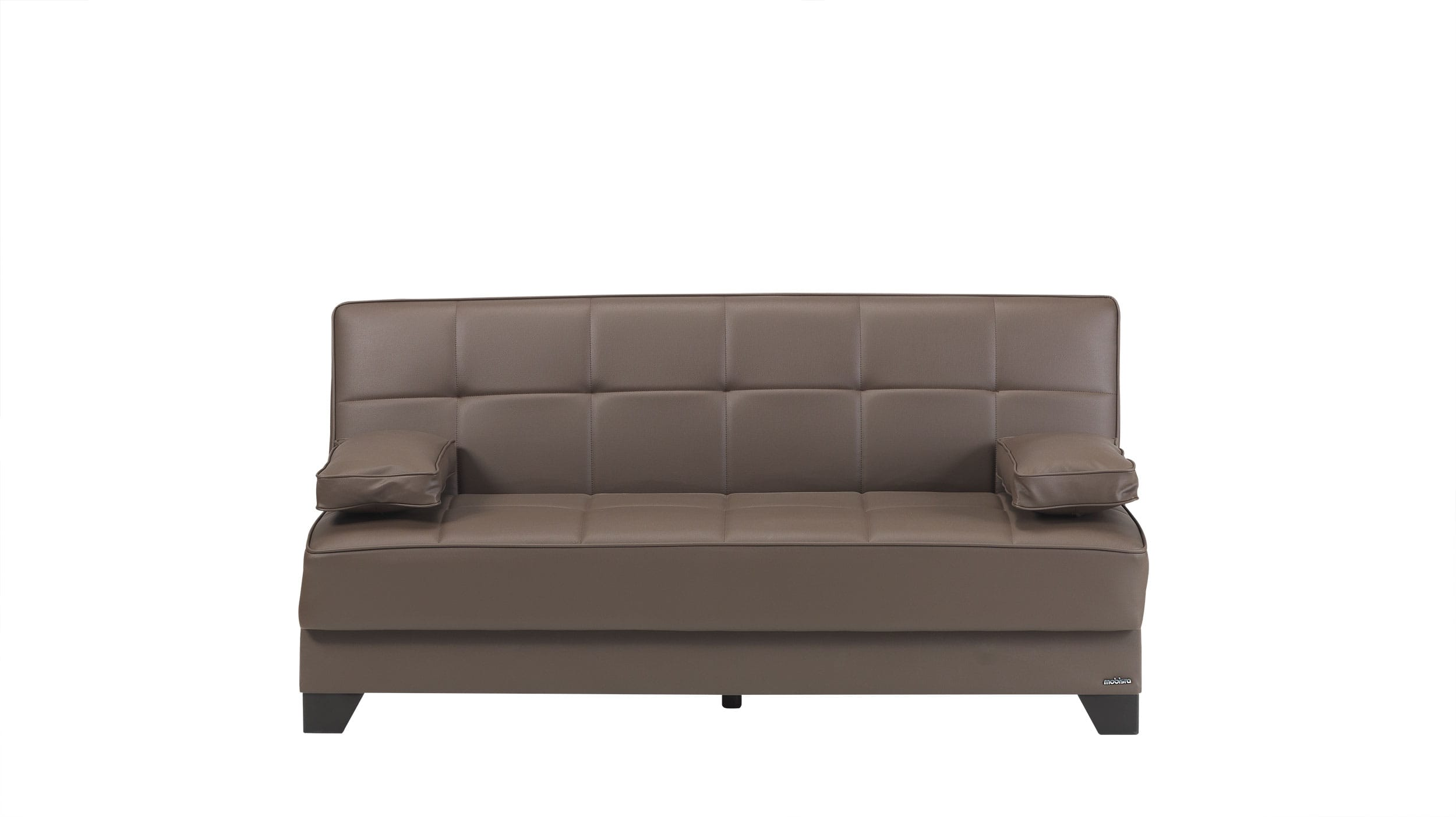 Tribeca nyc prestige brown sofa bed by mobista for Sofa bed nyc