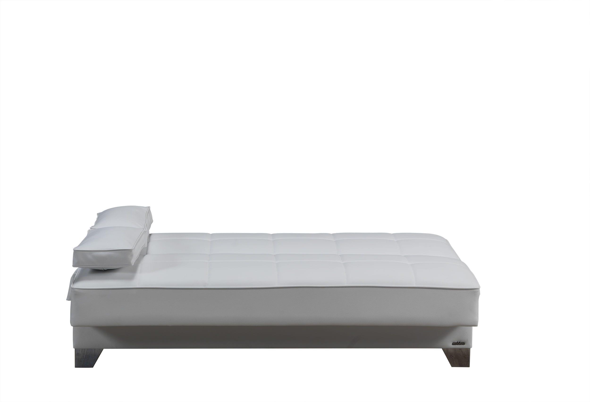 Tribeca Nyc Prestige White Sofa Bed by Mobista