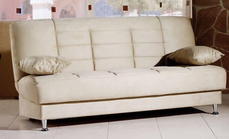 Vegas Rainbow Beige Convertible Sofa Bed By Sunset (Sunset International  (Istikbal))