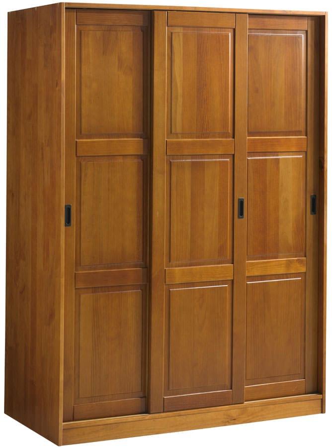 Superieur Wardrobe   3 Sliding Doors Honey Pine By Palace Imports (Palace Imports)