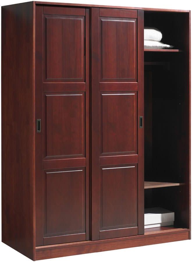 Superbe Wardrobe   3 Sliding Doors Mahogany By Palace Imports (Palace Imports)