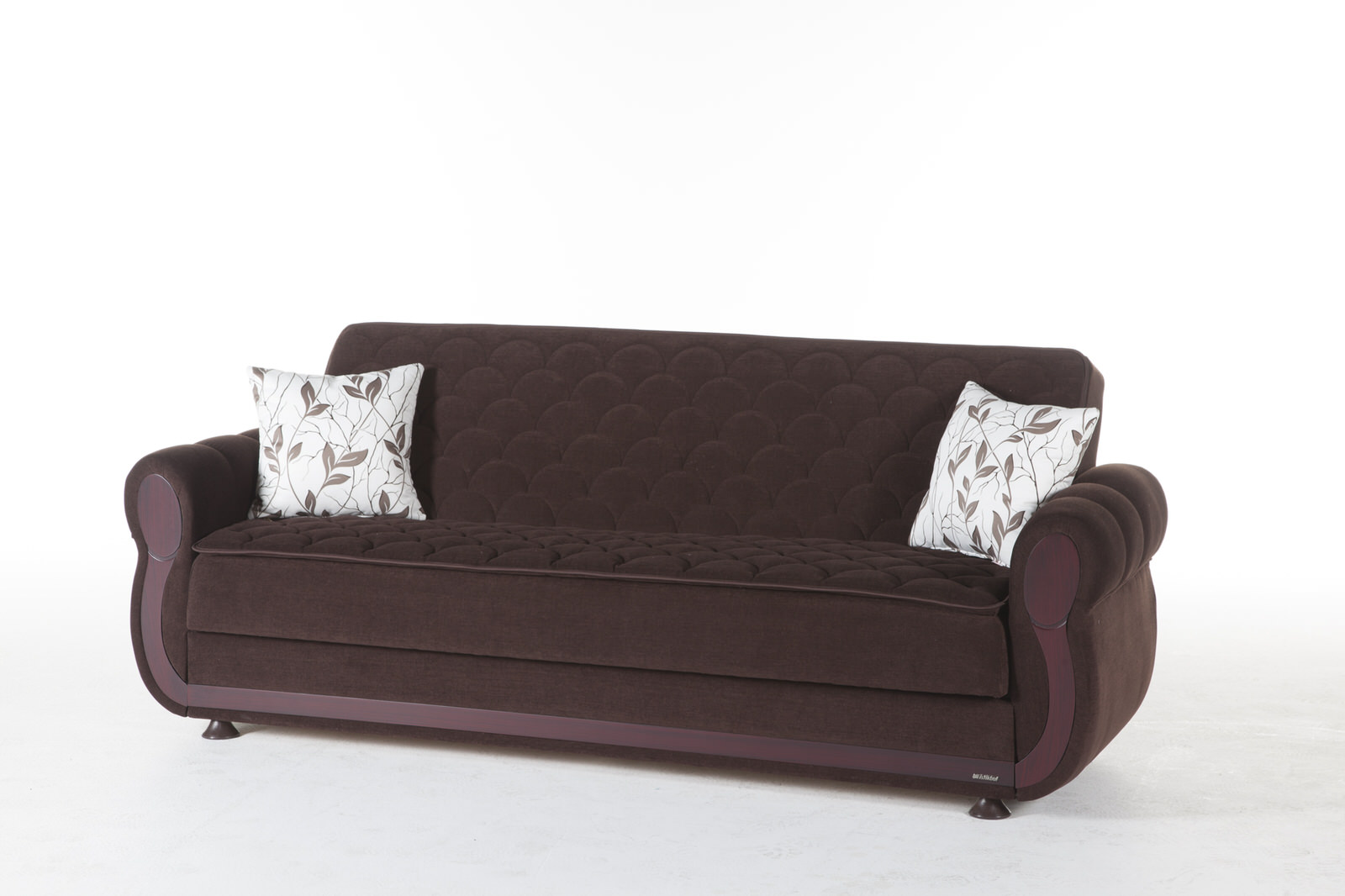 Argos Colins Brown Convertible Sofa Bed by Sunset : argoscolinbrown3 from www.functionalfurniturenyc.com size 1600 x 1066 jpeg 153kB