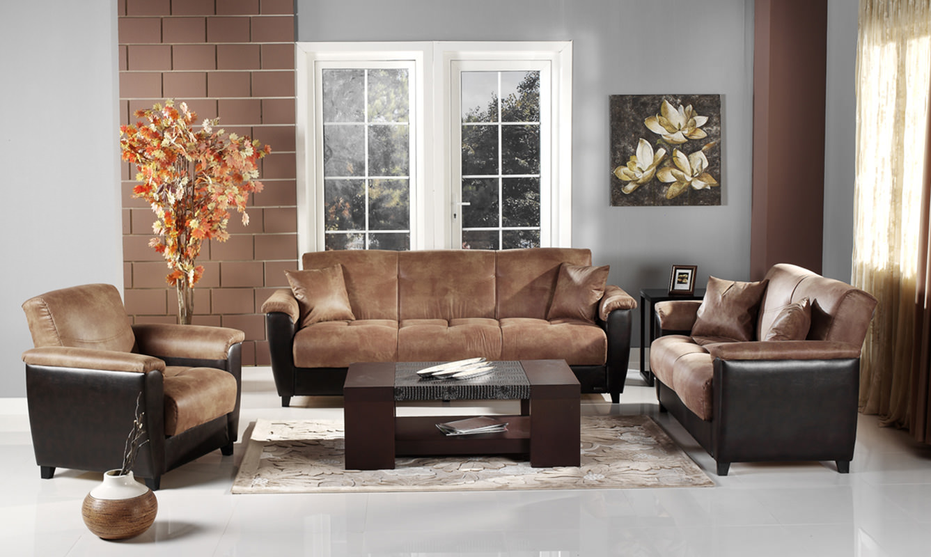 Phenomenal Aspen Mocha Vinyl Sofa Love Chair Set By Istikbal Furniture Dailytribune Chair Design For Home Dailytribuneorg