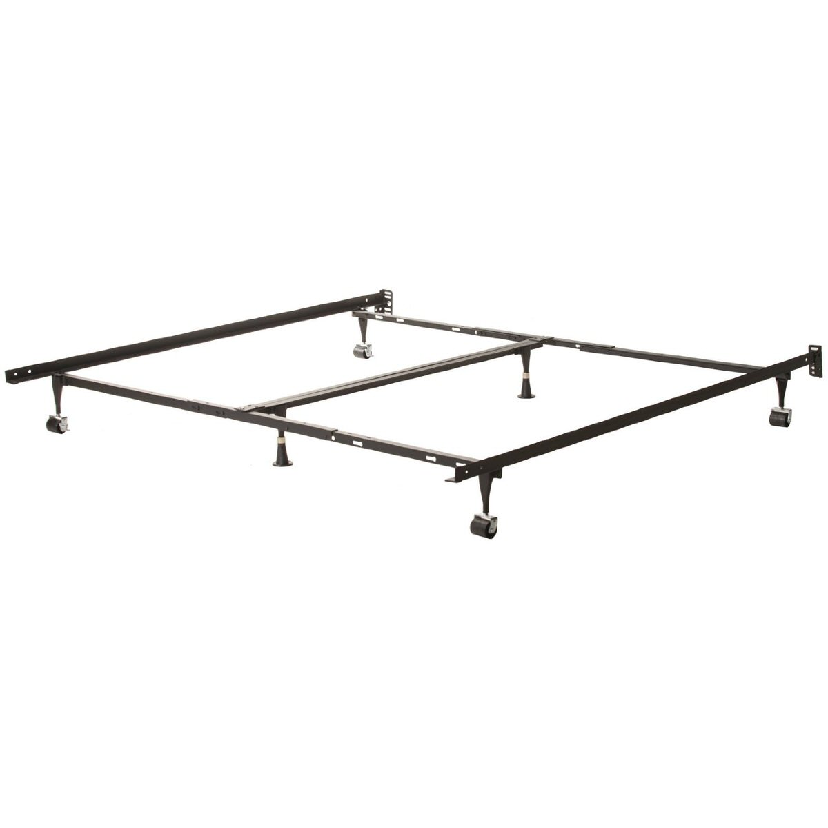 Adjustable Full Queen Bed Frame : Universal adjustable metal bed frame twin full queen