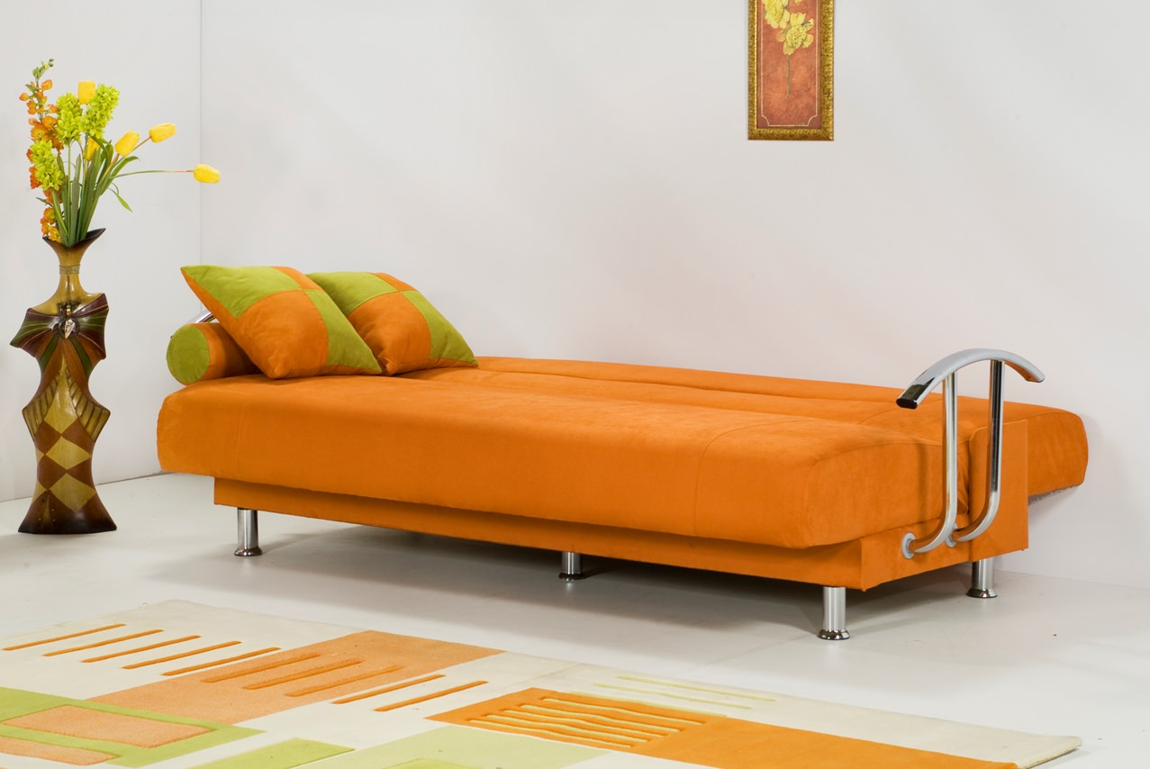 Dining Room Sets For Less Brenda Orange Sofa Bed By Kilim