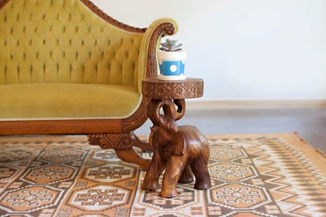 Elephant Chang Accent Table By Strata (Strata Furniture)