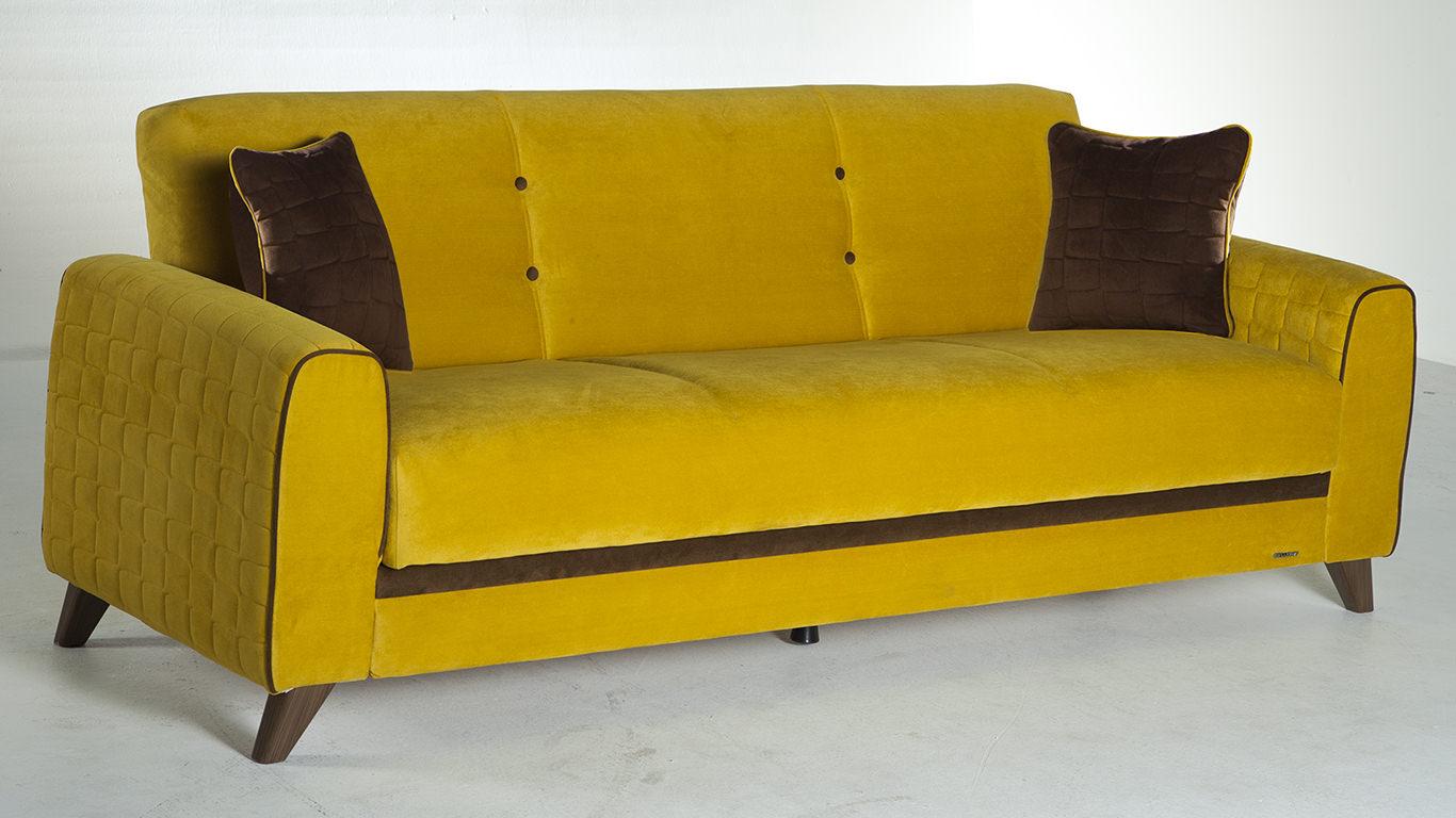 Yellow Sofa Bed Bonners Furniture TheSofa