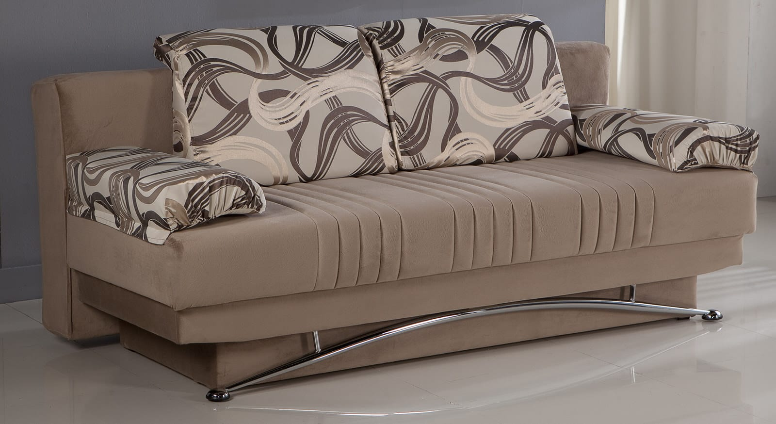 Floor Sample Fantasy Best Vizon Convertible Sofa Bed by ...