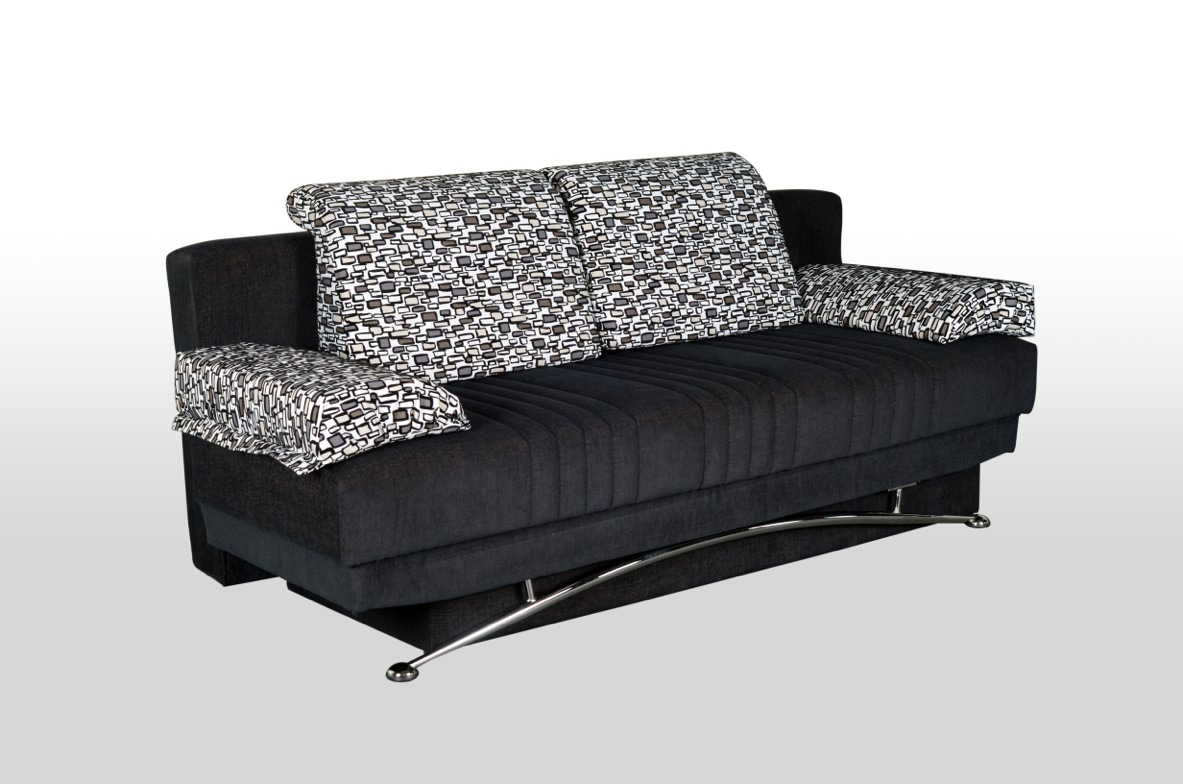 Black Convertible Sofa Abbyson Marquee Black Convertible