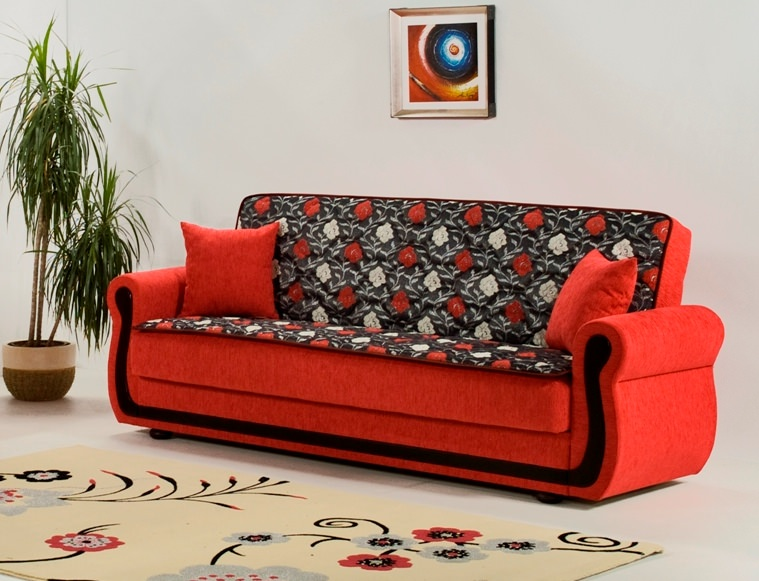 My Rose Fuschia Sofa Bed By Kilim