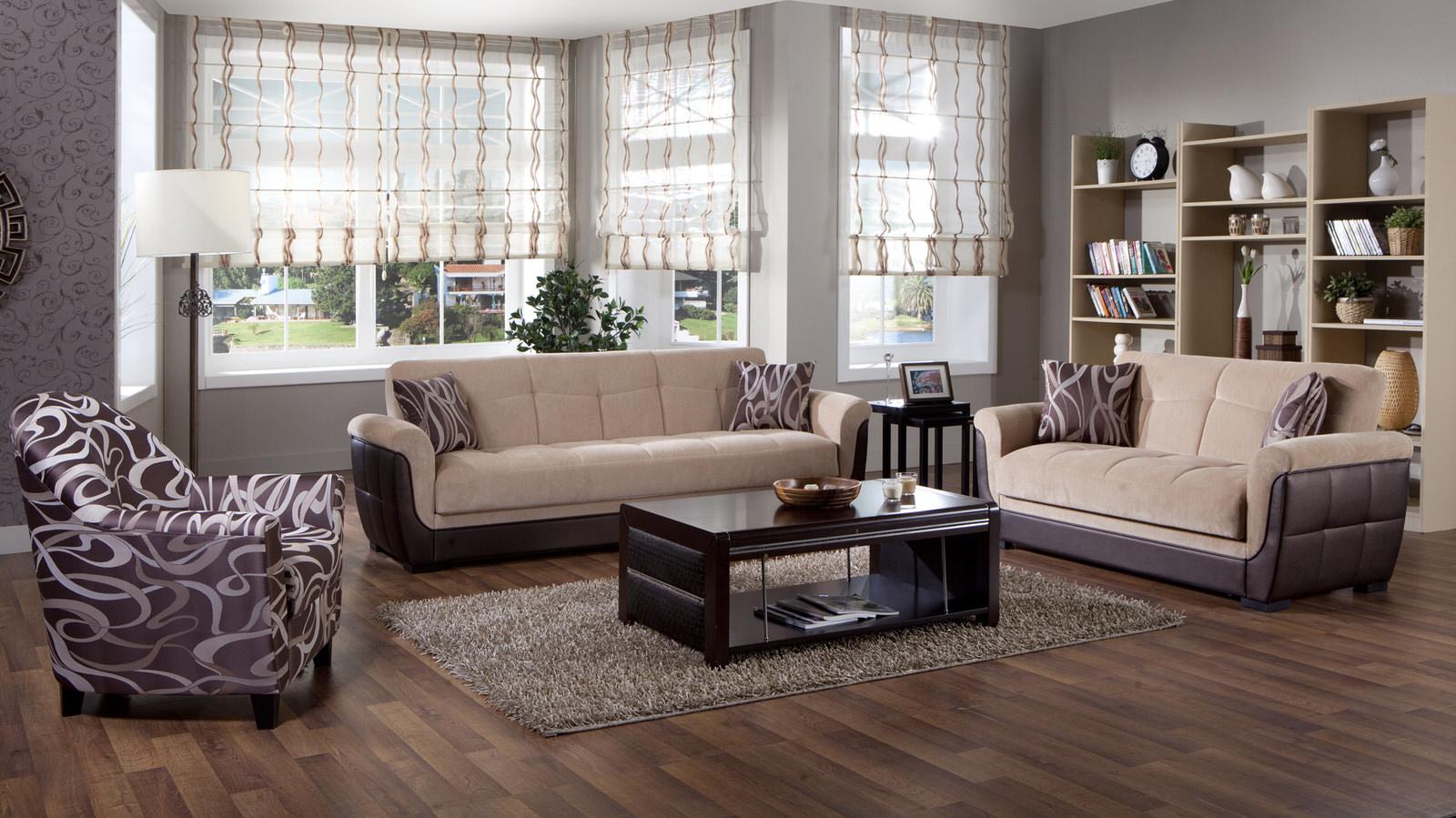 polo rubi light brown convertible sofa bedsunset