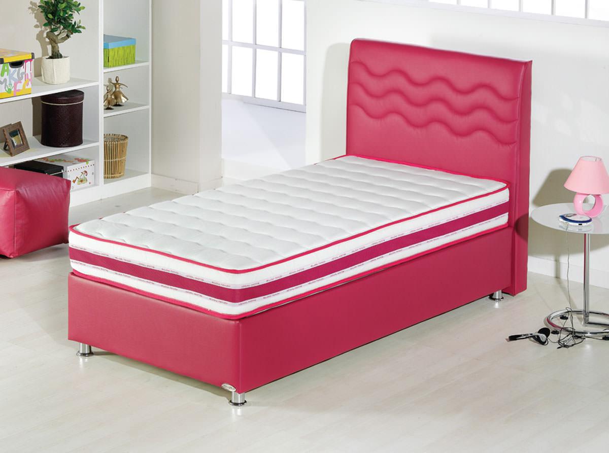 Twinjoy Platform Bed Wheadboard Twin Xl Size Fuchsia By Sunset