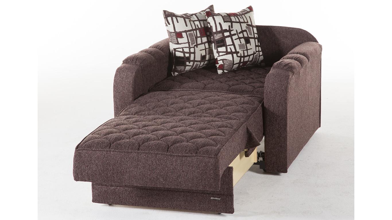 Verona Aristo Burgundy Chair And A Half By Istikbal Furniture