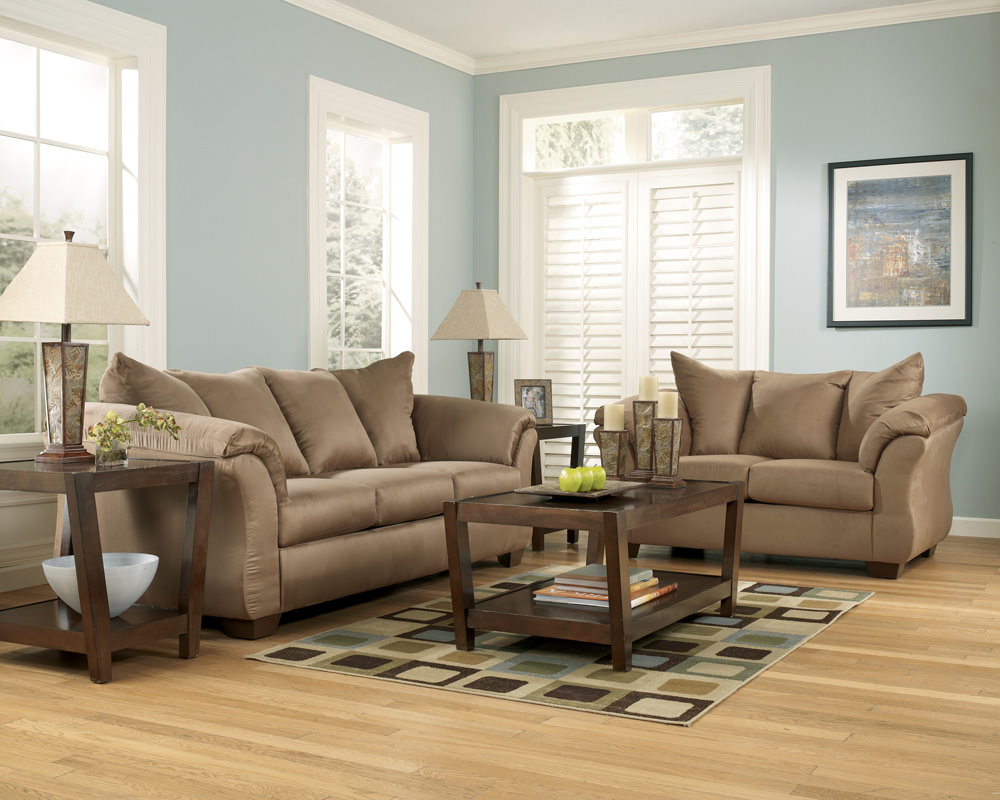 Darcy Mocha Sofa Signature Design By Ashley Furniture