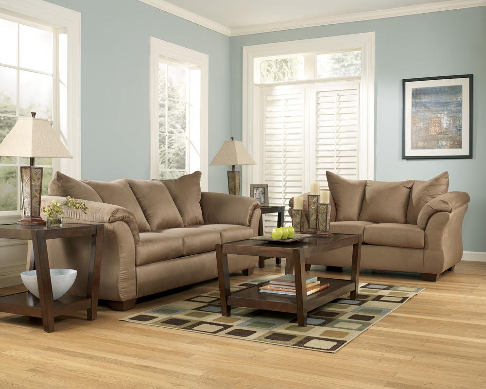 Darcy Mocha Sofa Signature Design By Ashley Furniture